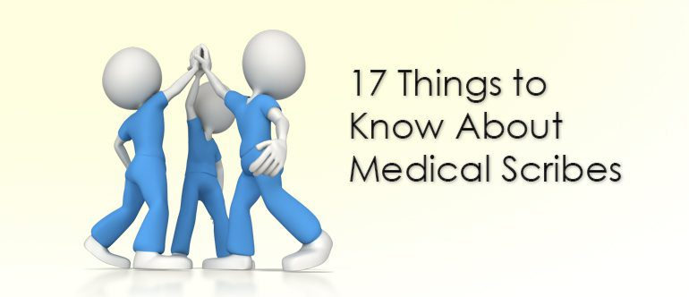 17 Things to Know About Medical Scribes | Dolbey Systems, Inc